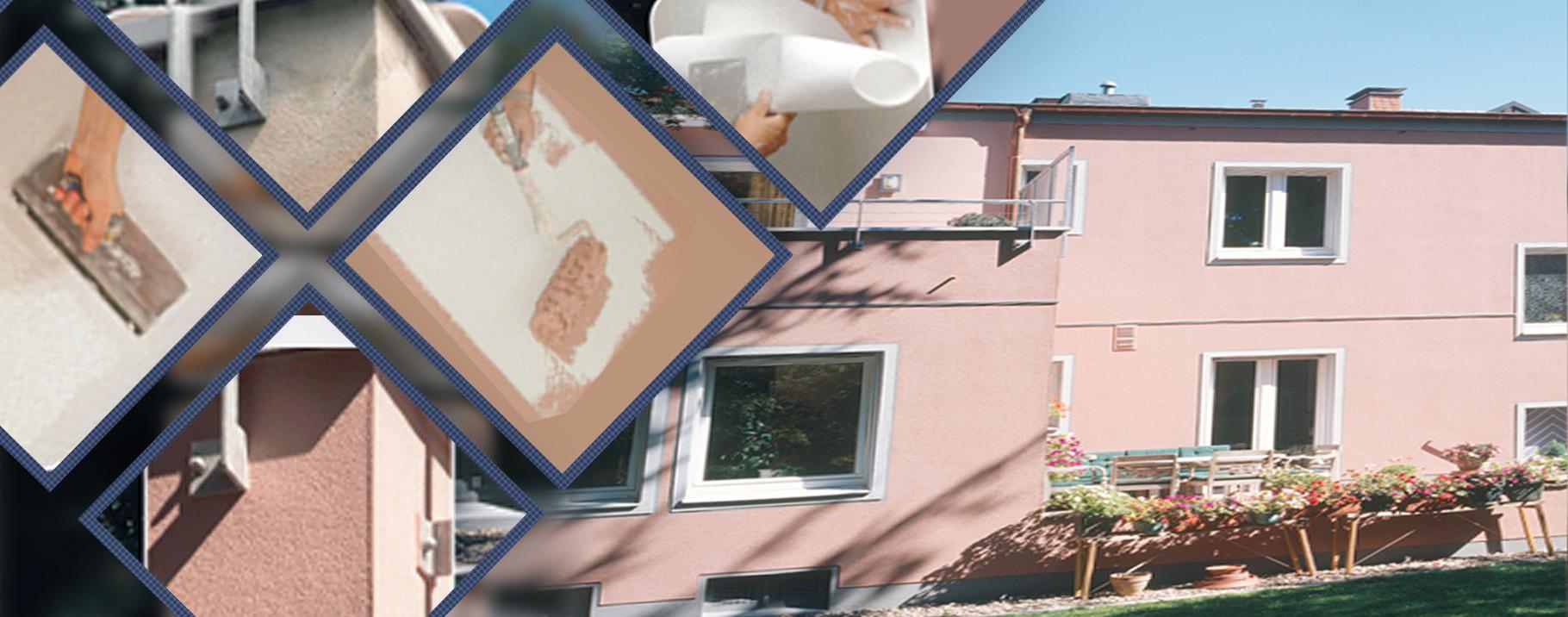 Cobertura exterior de Erfurt para prevenção de crack. Aplicação fácil e rápida