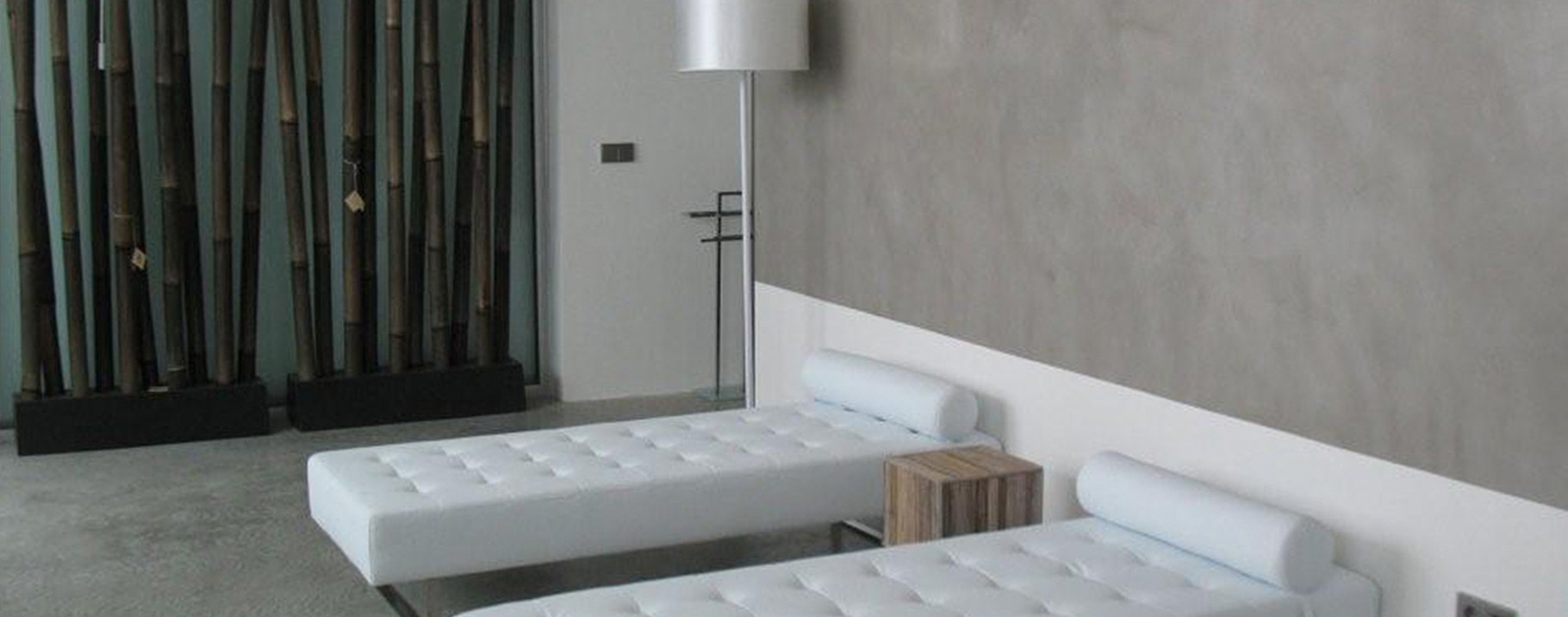-EDFAN Line: wall finishes and products. MicroCement. Thincrete. Revokolor