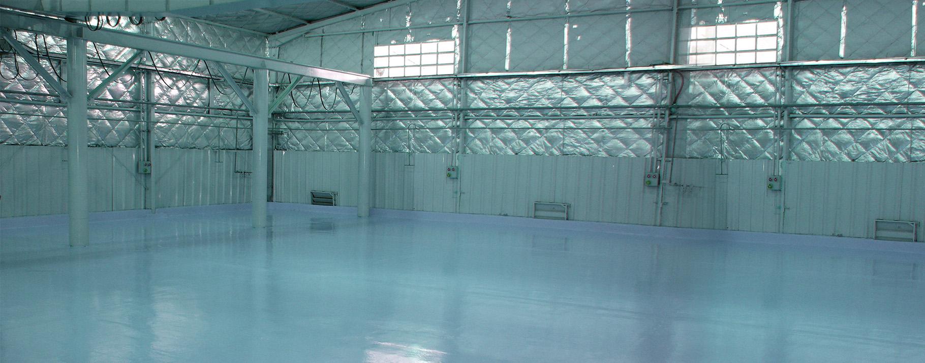 -Polyurethane floor