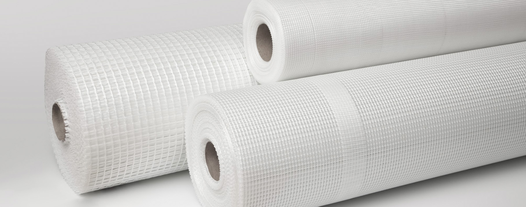 -Fiberglass mesh for prevention of cracks and microcracks